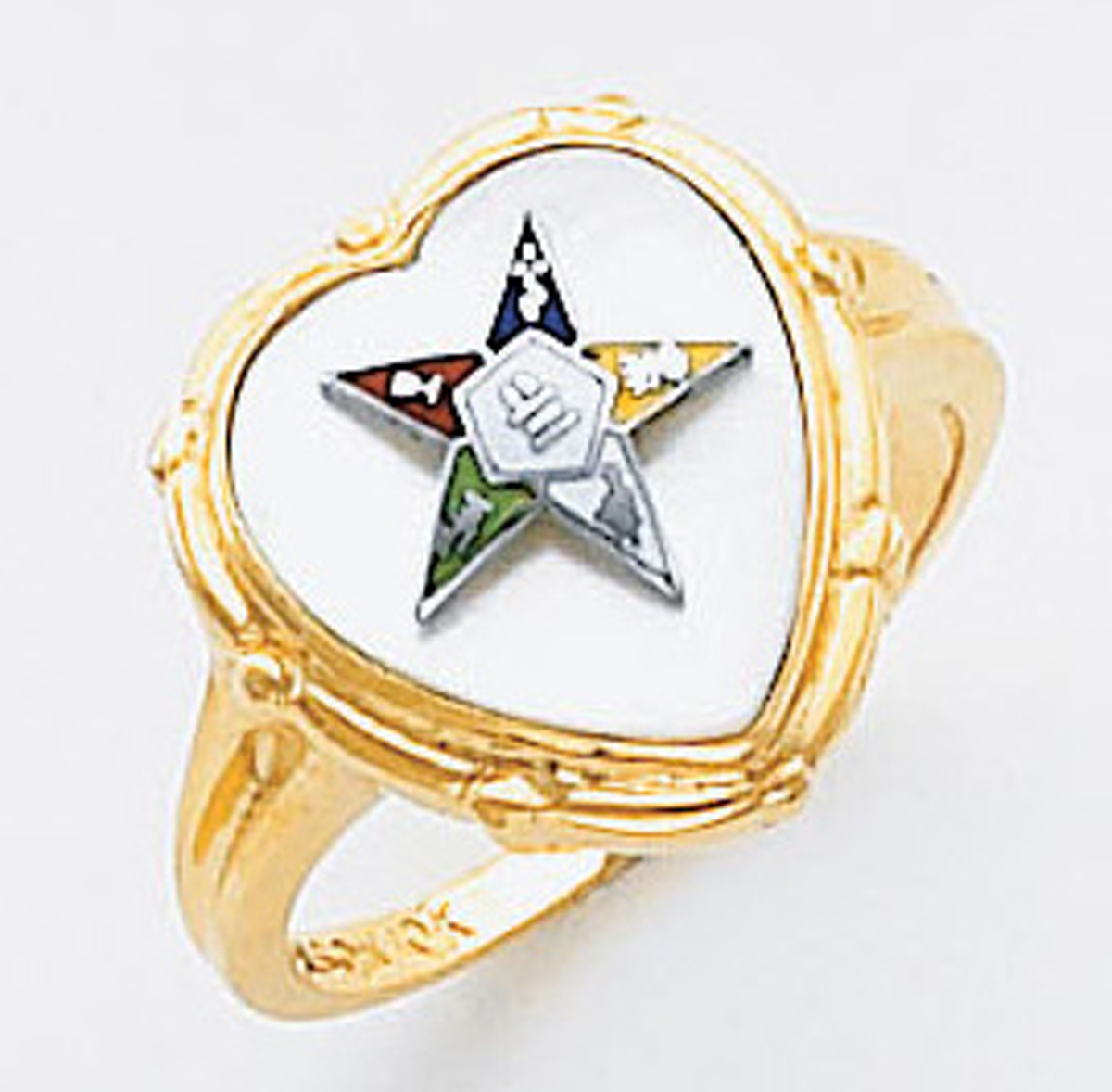 Order of the Eastern Star Ring Macoy Publishing Masonic Supply 5514