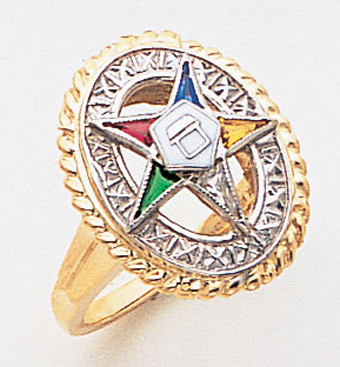 Order of the Eastern Star Ring Macoy Publishing Masonic Supply 5524