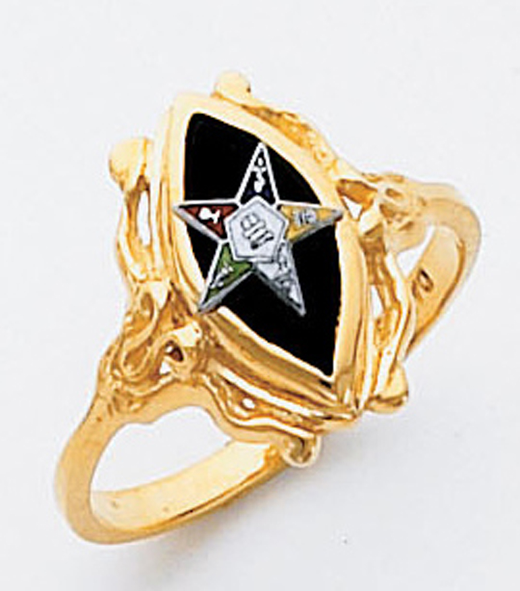 Order of the Eastern Star Ring Macoy Publishing Masonic Supply 5527
