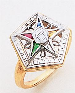 Order of the Eastern Star Ring Macoy Publishing Masonic Supply 5530