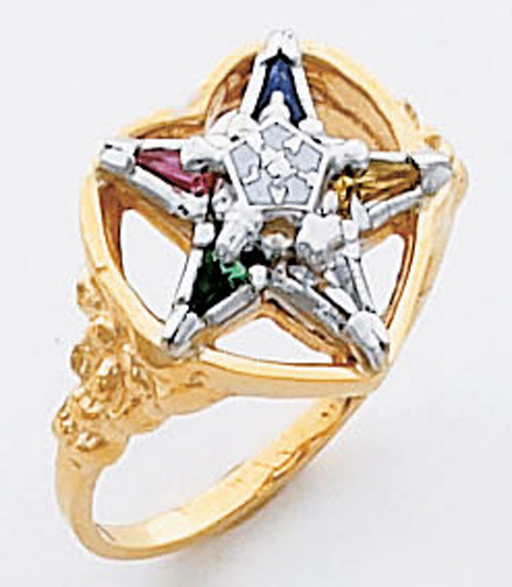 Order of the Eastern Star Ring Macoy Publishing Masonic Supply 5553