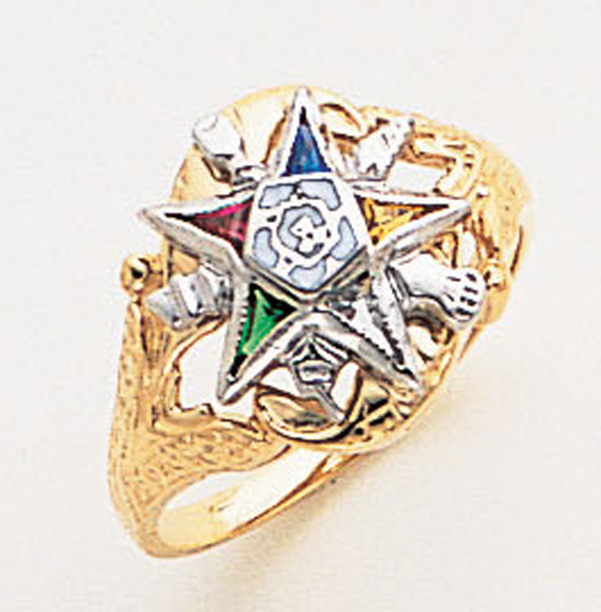 Order of the Eastern Star Ring Macoy Publishing Masonic Supply 5557