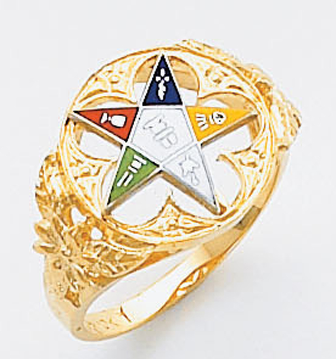 Order of the Eastern Star Ring Macoy Publishing Masonic Supply 5569