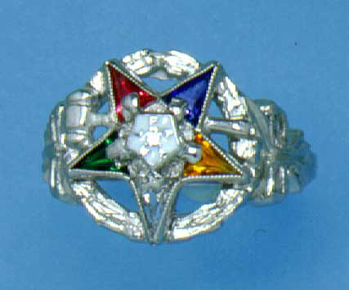 Past Matron OES ring