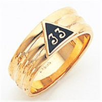 Masonic 33 Degree Scottish Rite Ring Ring Macoy Publishing Masonic Supply 5733