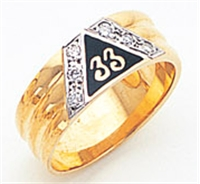 Masonic 33 Degree Scottish Rite Ring Ring Macoy Publishing Masonic Supply 5733D