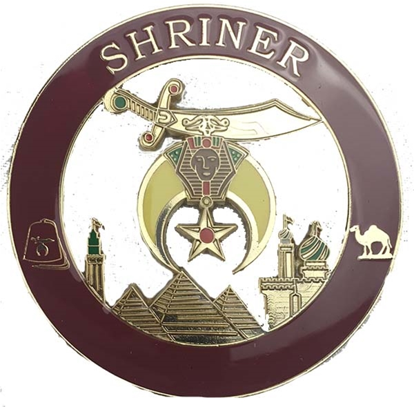 Shrine Cutout Auto Emblem