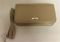 OES Taupe Mini Hand Bag