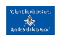 Masonic bumper sticker poem