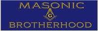"""Masonic Brotherhood"" bumper sticker"