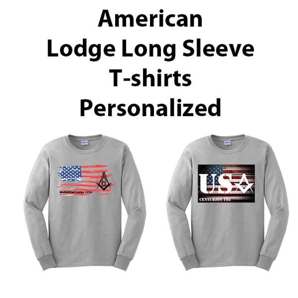 American Masonic Long Sleeve Lodge Shirt