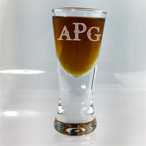 Monogram Firing Shot Glass