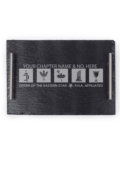 OES Personalized Slate Tray