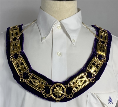 Royal & Select Masters Chain collar in Gold plate - Roadshow