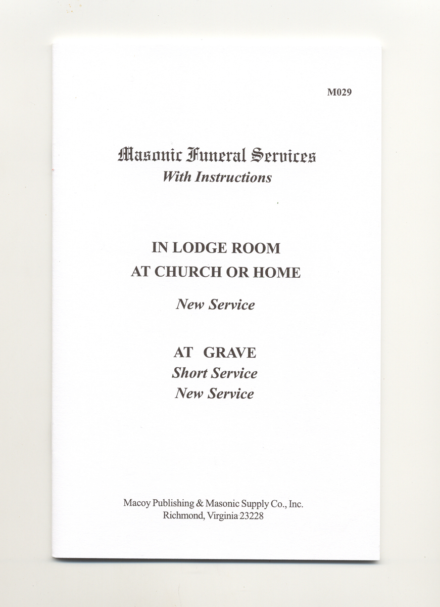Masonic Funeral Services
