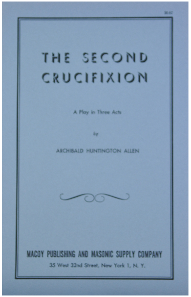 Second Crucifixion, The