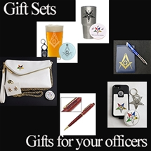 Masonic Gifts Sets Officer