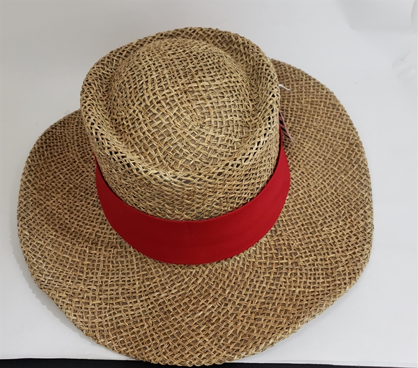 GAMBLER STRAW HAT RED BAND