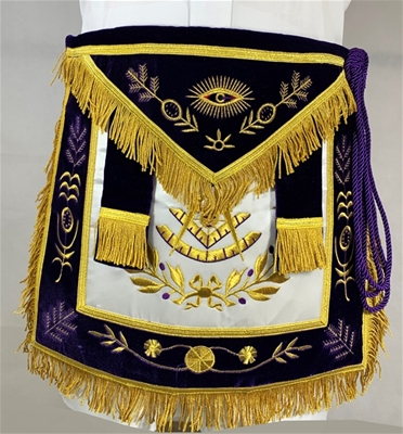 Past Master or Grand Lodge Officer Apron Belt Cord & Tassel
