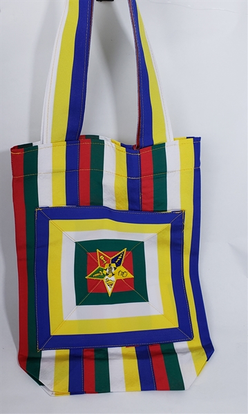 OES 5 Color Ribbon Tote