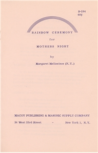 Rainbow Ceremony for Mothers Night