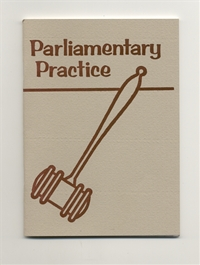OES - Parliamentary Practice by Elvira A. Atwood