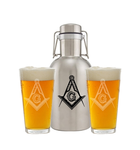 DRAFT GROWLER GIFT SET