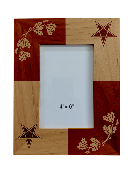 Eastern Star Wood Frame