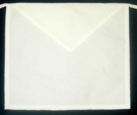 Masonic Apron - 13 x 15 Plain Cloth Apron
