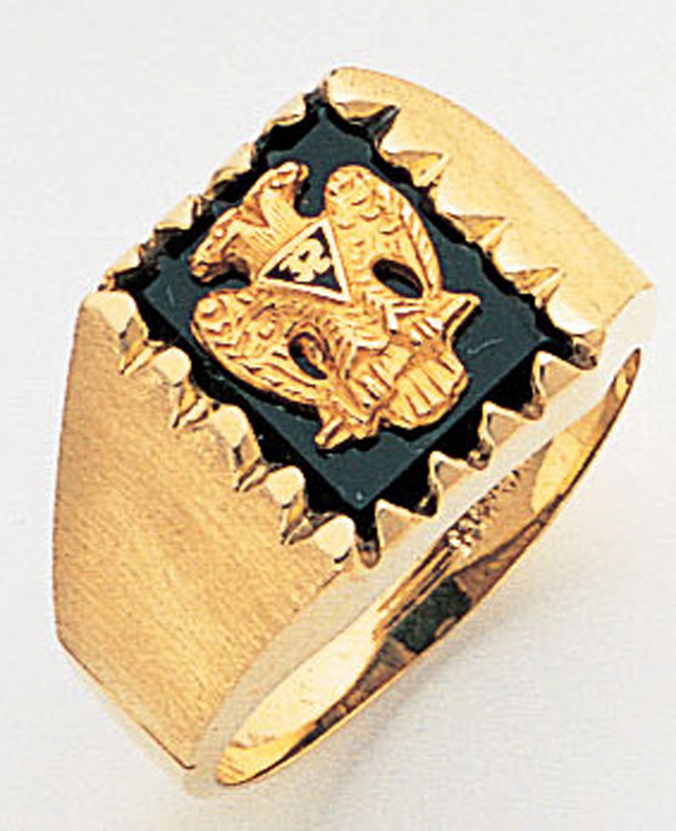 Masonic 32 Degree Scottish Rite Ring Macoy Publishing Masonic Supply 3359