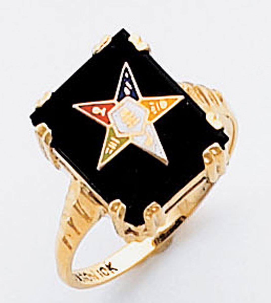 Order of the Eastern Star Ring Macoy Publishing Masonic Supply 3445
