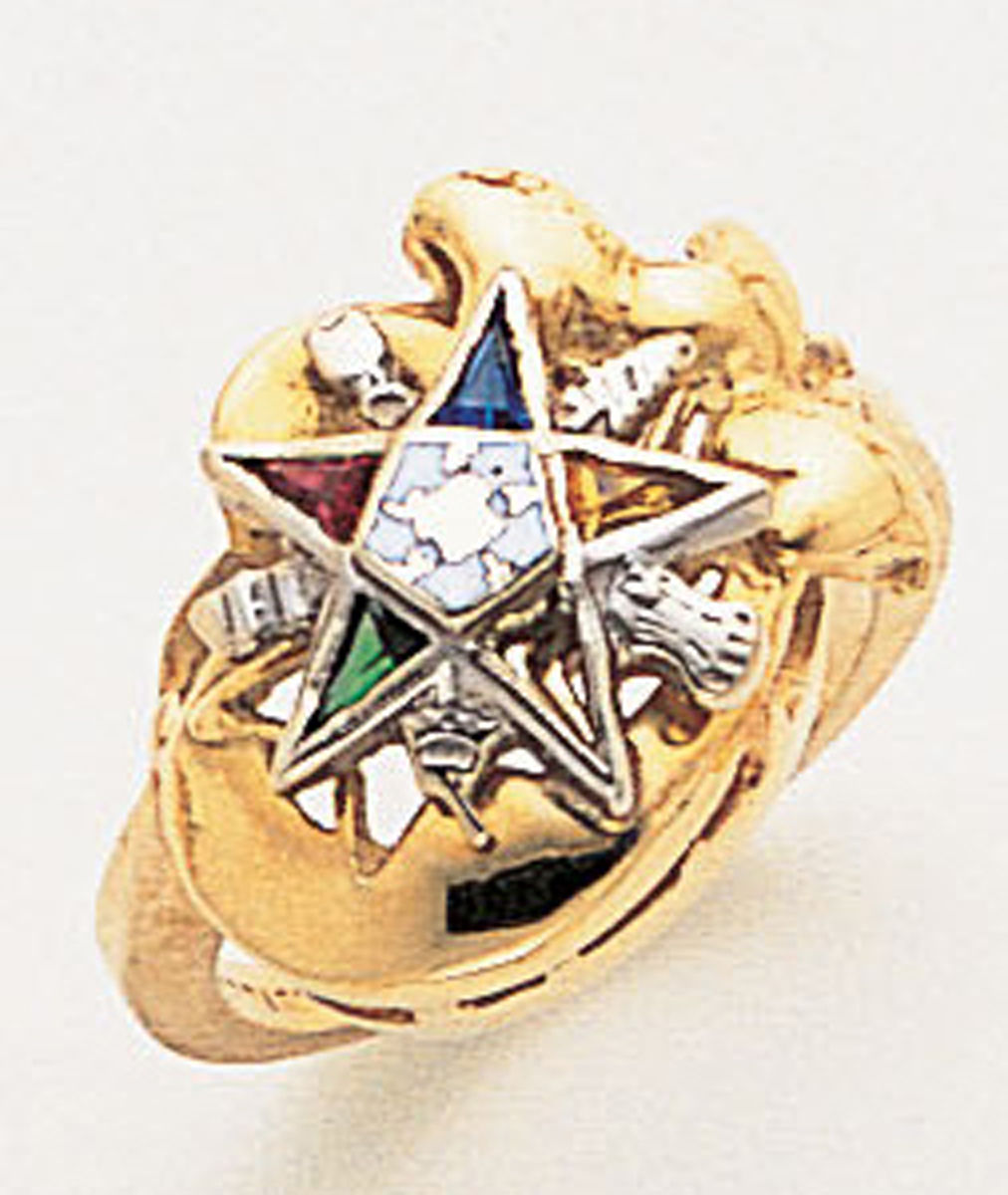Order of the Eastern Star Ring Macoy Publishing Masonic Supply 5566